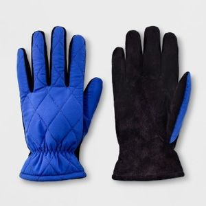 Nylon Lined Leather Gloves